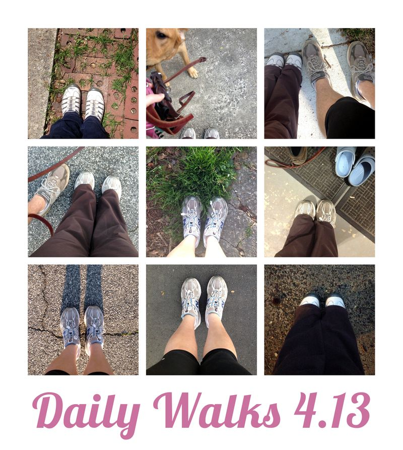 Daily Walks 4.13