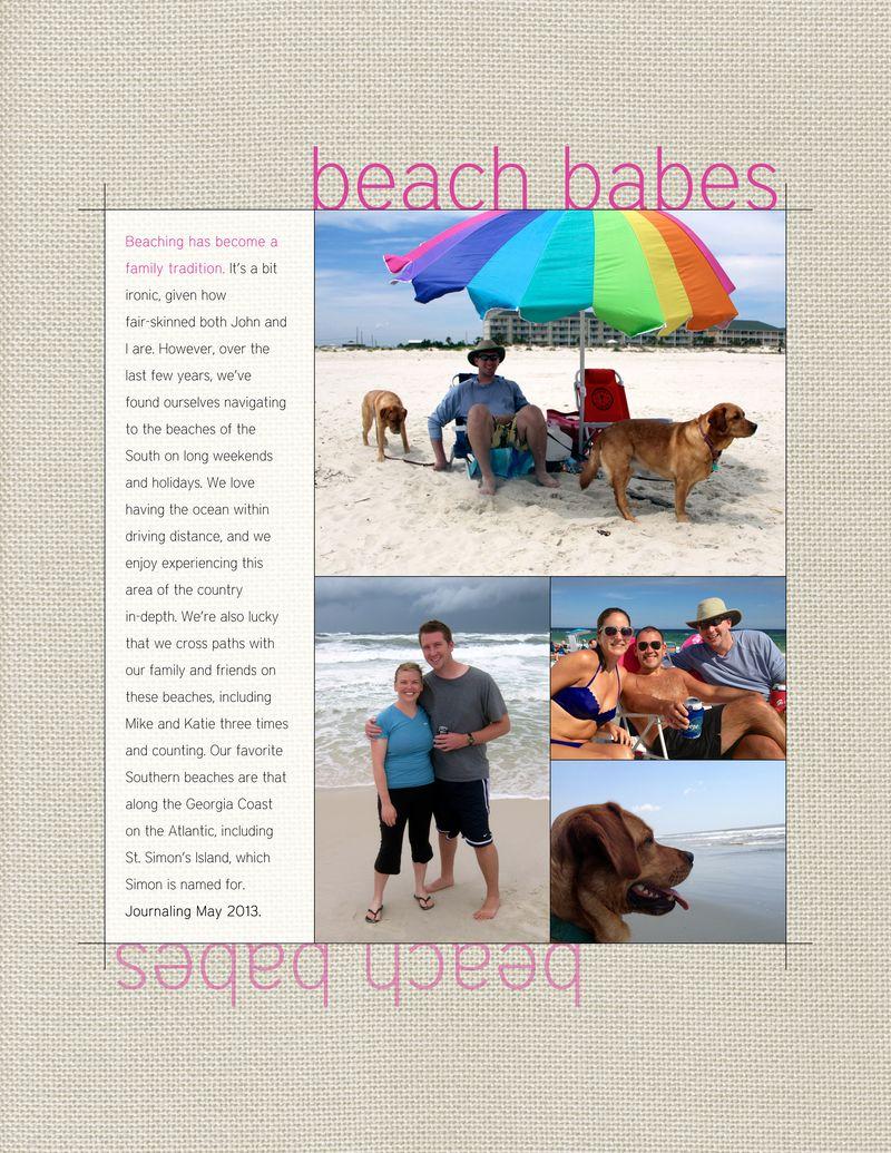 2013 Journal Beach Babes